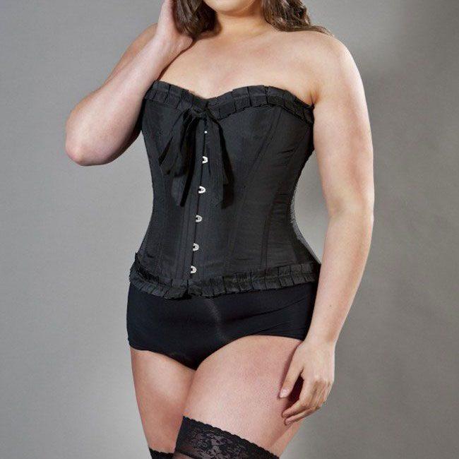 lily-overbust-plus-size-corset-in-black-taffeta
